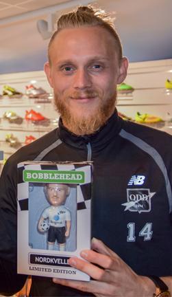 Bobblehead Fredrik Nordkvelle